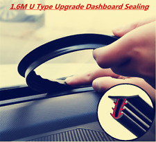 Car 1.6M U Type Upgrade Dashboard Sealing Strips Styling Stickers Gap Seal New