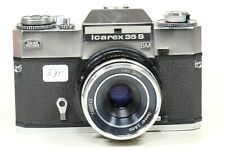 Zeiss Ikon Icarex 35S Camera with 50mm f2.8 Tessar