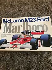 1/8 Entex F1 Mclaren M23-Ford Marlboro 100% Complete Unstarted Kit