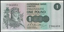Scotland- Clydesdale Bank 1972 £1 Pk204b CU