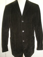 HUGO BOSS CORDUROY JACKET size 44 RARE AWESOME MADE IN ITALY