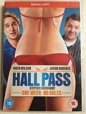 Owen Wilson Stephen Merchant HALL PASS ~ 2011 Gross Out Comedy UK DVD