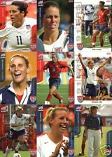 2004 Women Olympic Gold Medal cards Kristine Lilly - 3 different rookies