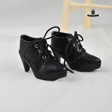 1/4 BJD Shoes MSD Dollfie Lolita Black High heels Shoes AOD DOD SOOM Dollmore DZ