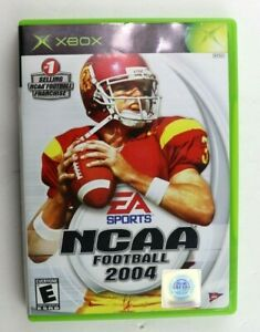NCAA Football 2004 (Microsoft Original Xbox, 2003) No Manual Tested