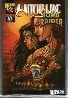 Vtg Comic Book from Estate Witchblade/Tomb Raider #1/2 Wizard Press With COA
