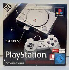 PS1 - PlayStation Classic Mini mit 20 Spielen - Grau 2 Controller Top Zustand
