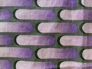 Vintage 1960s Pierre Cardin Environments Fabric Hanging For  P. Kaufmann Inc