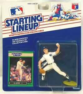 ⚾️ 1989 ROOKIE STARTING LINEUP - SLU - MLB - AL LEITER - NEW YORK YANKEES