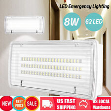 8W 6500K 62LED Rechargeable Light Lamp Home Emergency Ourdoor Stairs Waterproof