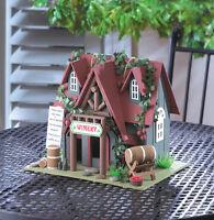 cottage wine tasting Winery vineyard Wood fairy garden Bird house birdhouse
