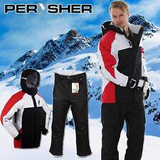 PERYSHER Performance Mens Snowboard / Ski Jacket & Pants Combo Suit | R&B Set