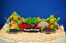 Teenage Mutant Ninja Turtles Raphael Donatello Cake Topper Figure Decoration