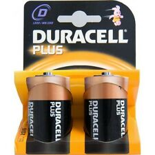 DURACELL MN1300  Pile Duracell Plus - torcia  D  1,5 V - ( IN CONF. DA 10 PILE )