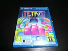ULTIMATE TETRIS SONY PS VITA NEW SEALED