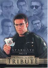 Stargate SG1 Season 5 Dr. Daniel Jackson Tribute Chase Card D6
