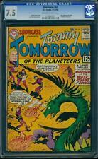 Showcase 41 CGC 7.5 Silver Age Key Comic Tommy Tomorrow Origin Appearance L@@K