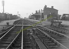 Alford Town Railway Station Photo. Willoughby - Aby. Authorpe Line. (5)