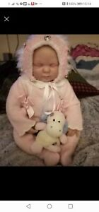 Reborn  Bountiful Baby sleeping girl doll