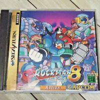 Rockman 8 Segasaturn Japan Ver Sega Saturn