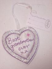 Best Grandmother Ever Small Love Heart Keepsake Birthday Christmas Gift #6F5