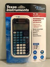 Brand New Texas Instruments Ti-34 MultiView Scientific Calculator Free Shipping!