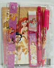 Disney Ariel Stationary Set Party School Supply Snow White Cinderella Belle