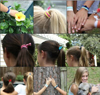 Fashion Women Elastic Hair Ties Rubber Band Knotted Hairband Ponytail Holder New