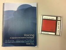 Voicing: An Approach to the Saxophone's Third Register by Donald Sinta PLUS CD