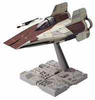 New Bandai Star Wars A-wing starfighter 1/72 Plastic Model Kit F/S