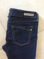 Women's Express Jeans Stella Dark Stretch Size 4 Great!!