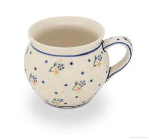 Bunzlauer Keramik Kugelbecher 320ml Dekor 111 Böhmischer Kaffeetasse Kaffeepott