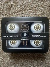 Boston Bruins Golf Ball / Divot Tool with Ball Marker NHL Gift Set