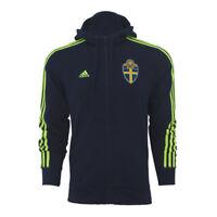 adidas SVFF 3S Hood Sweden Schweden Kapuzenjacke Jacke Sweatjacke blau Hooded