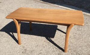 Ercol Rare Blonde Coffee Table