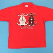 80s NAVAJO ALIEN Vintage T Shirt Size Medium M Grand Canyon Native Indian Tee