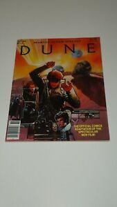 Marvel Super Special #36 DUNE Movie COMIC BOOK MAGAZINE 1984 TV Reboot Film MINT