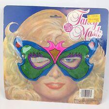 VTG NEW NOS Halloween Ben Cooper Fancy Eye Mask Item 27 Costume 70s Butterfly