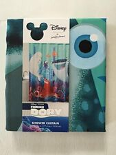 NEW Disney Finding Dory Pixar Fabric Shower Curtain 70 X 72 Jumping Beans 35%off