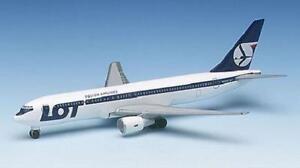NEW HERPA WINGS 502788 POLISH AIRLINES LOT BOEING 767-300 NIB 1:500 SCALE MIB