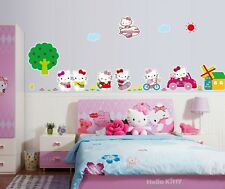 Cute Hello Kitty Girl Kid's Room Decor Wall Sticker Mural Vinyl Art Decal
