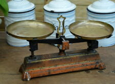 French antique portee balance scales 2kg deco loft small