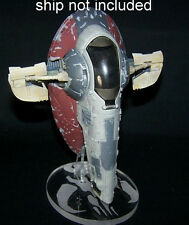 acrylic display stand for Disney Star Wars diecast Boba Fett Slave I  stand only
