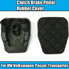 2x Rubber Cover Panel For VW Passat Transporter Audi Seat Clutch Brake Pedal