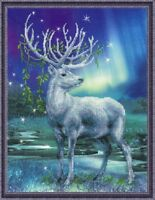"""Counted Cross Stitch Kit RIOLIS """"White Deer"""""""