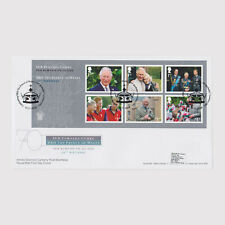 2018 Prince Charles 70th Birthday M/S First Day Cover (FDC) - SW1 Postmark 2