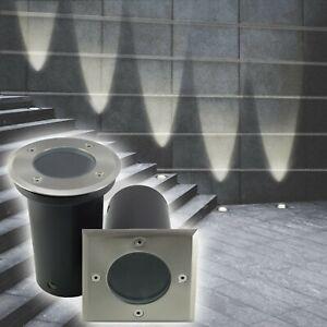 Bodeneinbaustrahler LED 230V Bodenleuchte Einbaustrahler Außenleuchte Lampe 820