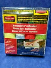 Commercial Professional Microfiber Cloths 4 Pack Multi Colored (loc-122)