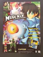 Mega Man Legends PS1 Playstation 1 PSX Print Ad Original Art 7.75x10.50