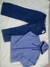 NWT OLD NAVY Active-Sport Pant/Full-Zip Polyester Fleece Hoodie, XL, blue